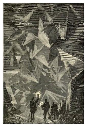 019-La cueva de los diamantes- Viaje al centro de la Tierra-Voyage au centre de la terre-ilustrado por Edouard Riou