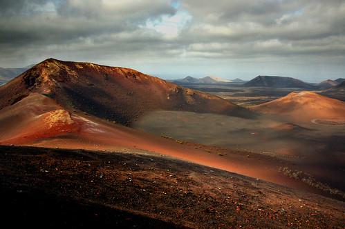 Caldera at the heart of Timanfaya