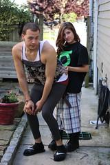0611_8 (ericaalee) Tags: boy cute boyfriend girl outside outdoors girlfriend couple sister crossdressing crossdresser crossdress daniella