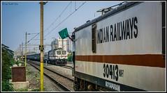 Hi - Bye Crossing of Bengaluru trains !
