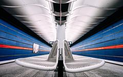 Underground Series: Am Hart (explored) (depthobsessed) Tags: ubahn metro subway underground publictransport publicstation lines linien symmetrie symmetry geometry geometrie munich münchen depthobsessed 2017 ubahnmünchen urban urbex sony teamsony sonyfe16354zaoss sonyilce7m2 longexposure vollformat fullframe