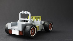 Willys Jeep Rat Rod Rover (billyburg) Tags: lego classic space willys jeep rat rod rover lunar moon biotron radar benny febrovery white wall tyres bumblebee stripes