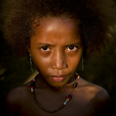 Drought in Trobriands island - Papua New Guinea (Eric Lafforgue) Tags: pictures portrait people girl face photo sad picture culture tribal hasselblad triste human papou tribes png tradition tribe papuanewguinea ethnic fille tribo gens visage papu ethnology tribu  ethnologie h3d papuaneuguinea papuanuovaguinea  ethnie papouasienouvelleguine papuaniugini papoeanieuwguinea papusianovaguin papuanyaguinea   papanuevaguinea    paapuauusguinea  papuanovaguin papuanovguinea  png119  papuanowagwinea papuanugini papuanyguinea  humainpersonne