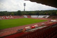 Balgarska Armia Stadium (Alan Hilditch) Tags: la europe sofia bulgaria balkans bulgarie republika cska bulgarije bulgarien oblast serdica   sofiyagrad  blgariya  sredets