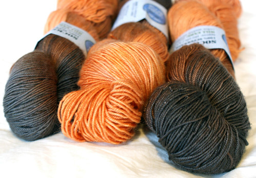 Rhinebeck Haul: 3 hanks Socks that Rock mill ends