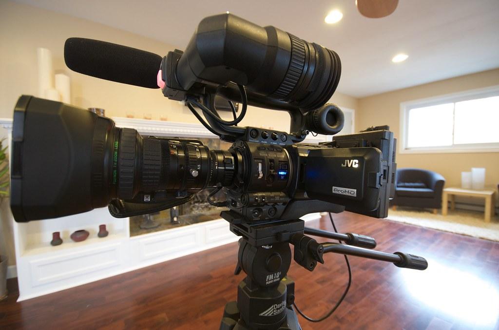 JVC GY-HD110U video camera