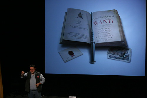 Kymera Wand presented at PopTech