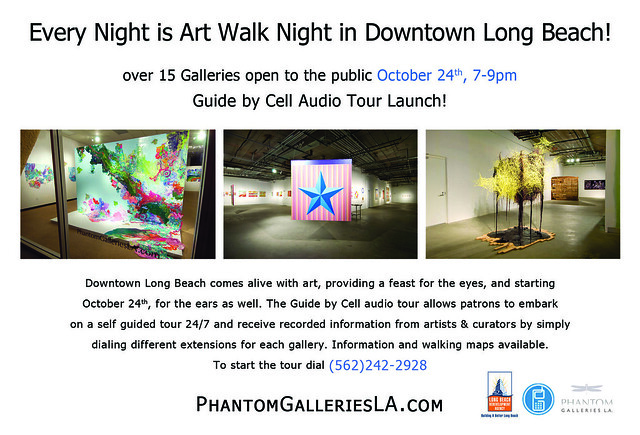 Downtown Long Beach Art Walk Launch Guided by Cell Phone Audio Tour 5622422928 by Phantom Galleries LA