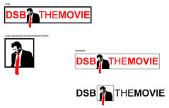 """DSB The Movie"" logoconcept 01 (dojaro) Tags: film movie logo bank dirk dsb competitie ontwerp rozema scheringa douwejan dojaro dojaronl dsbthemovie dsbthemovienl"