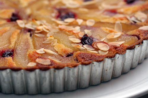 French Pear & Almond Tart Recipe - David Lebovitz