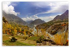 HUNZA, COLORS OF PAKISTAN (TARIQ HAMEED SULEMANI) Tags: autumn pakistan tourism nature colors trekking hiking north hunza karimabad tariq the4elements concordians sulemani