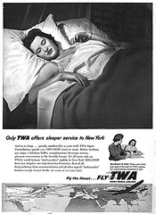 1955 TWA-sleeper-service (x-ray delta one) Tags: illustration vintage magazine ads advertising airport aircraft ad 1950s concorde americana boeing 707 airlines americanairlines dc3 populuxe panam sst 747 jumbojet coldwar aerospace worldoftomorrow jetage dc4 magazineillustration airlinesadvertising