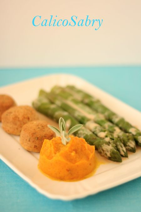 asparagi_con_salsa_al_tahini_e_crema_di_zucca