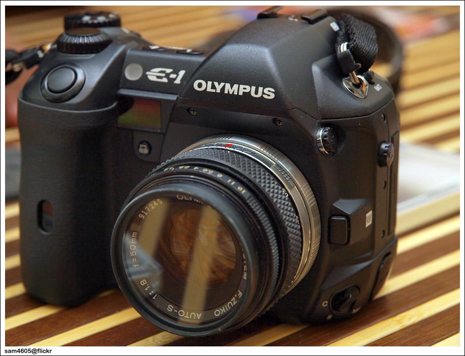 Olympus E1 + OM 50mm f/1.8
