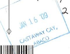 Castaway Cay - Postmark