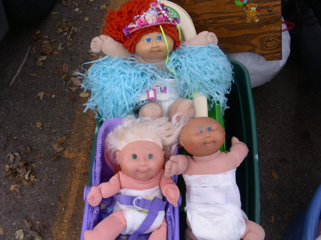3 more cabbage patch dolls headed for the landfill