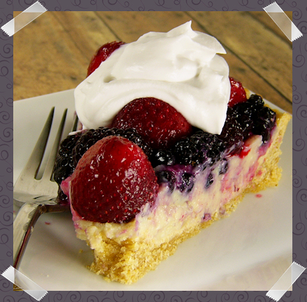 Berries And Cream Tart - Sweet Freedom