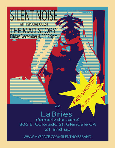 silent noise flyer DEC 4