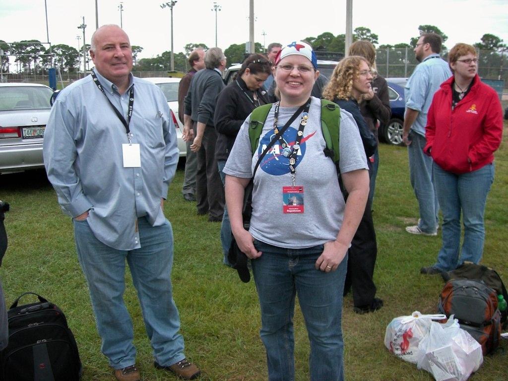 NASA Tweetup Tailgate
