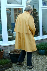 1m - Laura Winston - 81d (Silver Linings) Tags: mac rubber raincoat rainwear rubberised