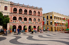 Largo do Senado, Macau (twiga_swala) Tags: world china heritage square site pavement centro macua unesco senado largo portuguese  histrico