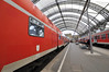 Two Regional Trains at Dresden Hauptbahnhof