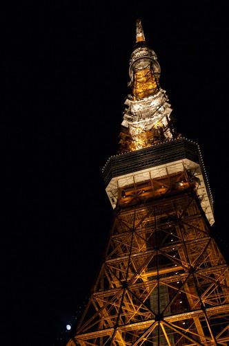 月と東京タワー