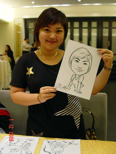 Caricature live sketching for Siam Express - 8