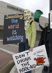 Operation Frogger 52 (Anonymous9000) Tags: florida flag protest peaceful scientology wise cult activism anonymous global clearwater dianetics brainwashing able hubbard cultleader organizedcrime convicted cchr lrh xenophon narconon youthforhumanrights criminalinvestigat