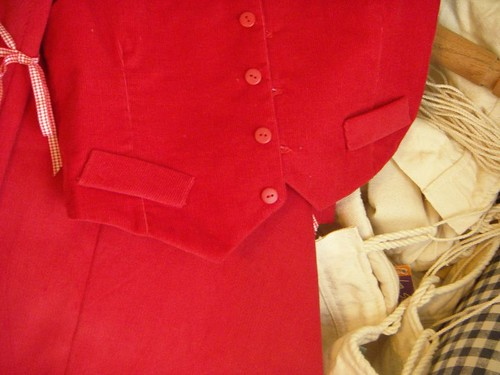 red - corduroy