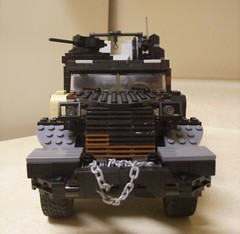 M3 Halftrack front (formula_bird) Tags: truck lego military turret aa halftrack maxon m3halftrack