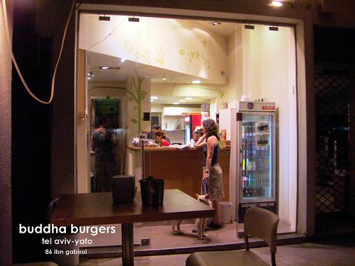 buddha burgers, tel aviv