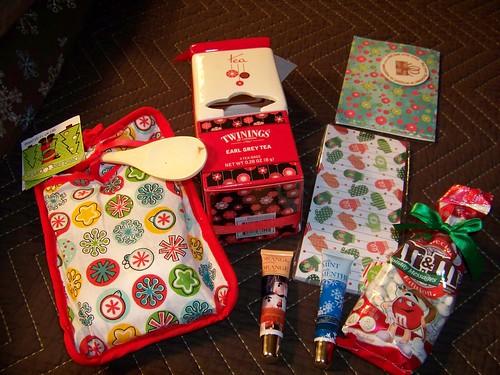 White Christmas goodies