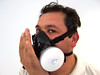 seal check (PNASH) Tags: test protection fit chemical ppe respirator pesticide fittest pnash