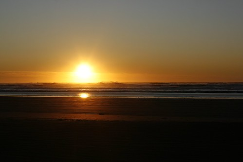 Pacific Ocean Sunset