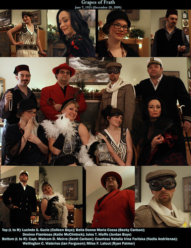 Grapes of Frath Murder Mystery Collage