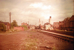 10 - 1960s - Towards Fishponds station from south west (emmdee) Tags: station bristol railway demolition slides oldslides fishponds fishpondsstation