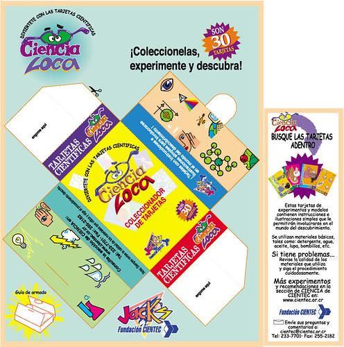 Tarjetas de Experimentos - Cajas de Cereal Jack's