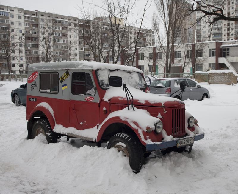 Киев 2 января 2010