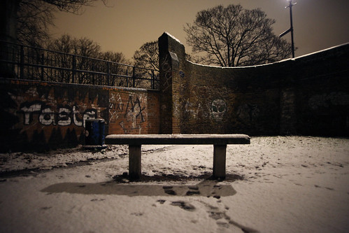 East London Snow 2010