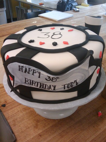Tom's Poker Chip Cake