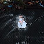 11 - 10 janvier 2010 Créteil Bords de Marne Sur les îles Décoration de Noël Bonhomme de neige thumbnail