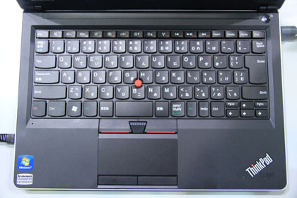 ThinkPad Edge 13 キーボード
