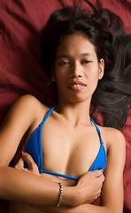 Horny pinay spinner in bikini is picked up by trikepatrol 8