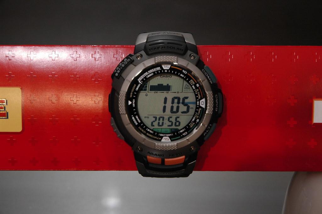 Casio PAW-1100 Altimeter Mode
