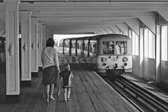 Pierhead station, Southend-on-Sea - 1977 (piktaker) Tags: uk train trainstation essex southend southendonsea southendpier piertrain