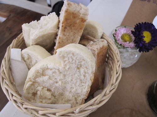 bBlue bread basket