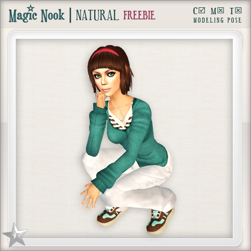 [MAGIC NOOK] Natural (Modeling Pose) /FREEBIE/