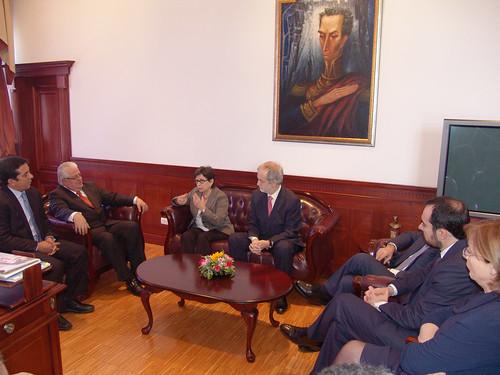 Presidente de la Asamblea Nacional mantendrá reunión de trabajo con la Sra. Teresa Cunillera, Primera Vicepresidenta del Congreso de España y varios Diputados