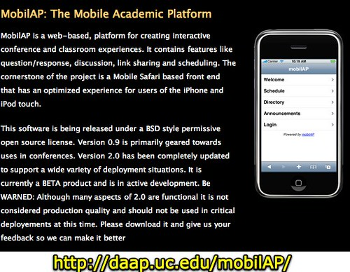 MobilAP: The Mobile Academic Platform